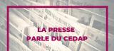 La presse parle du Cedap - Opération Plan de relance