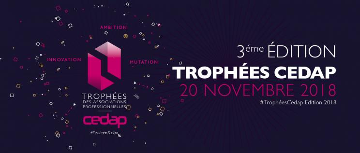 2018 : 3e édition Trophées Cedap