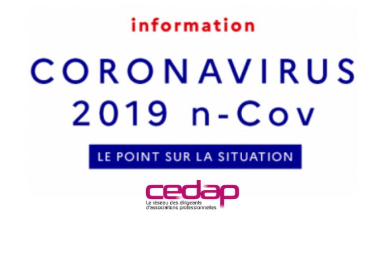 COVID-19 : Cedap flash infos