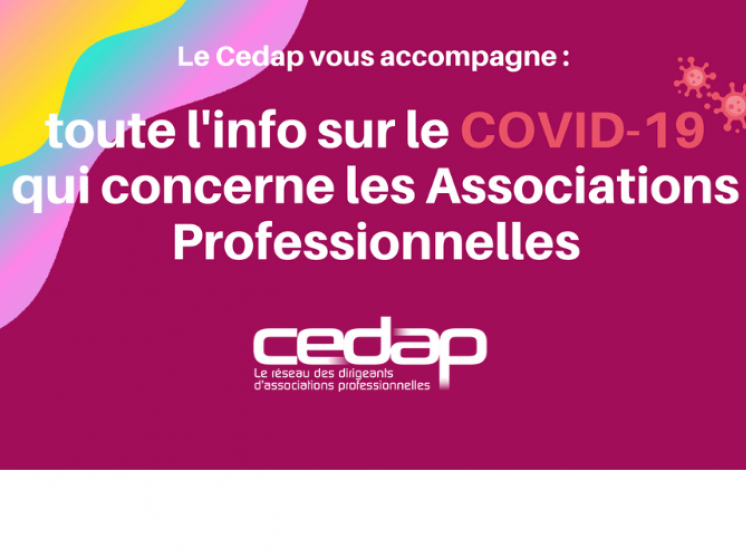 COVID-19 : Cedap flash infos