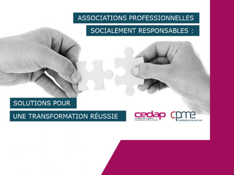 Soirée CEDAP / CPME - à vos agendas !